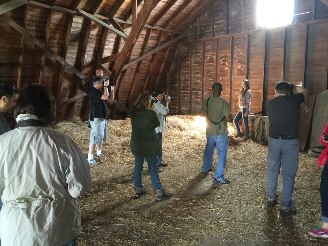 Free Shooting in the barn.