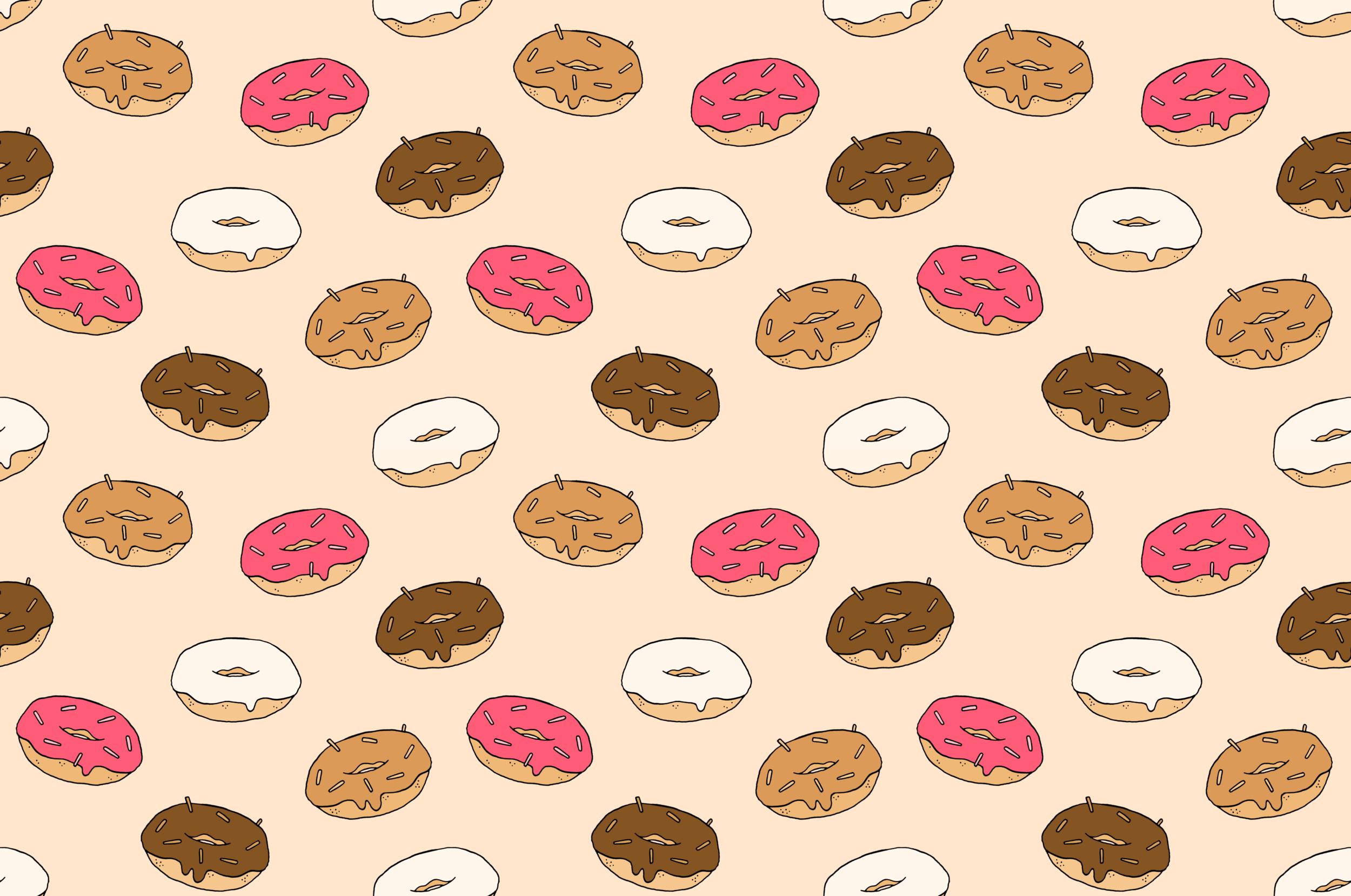 Donut repeat pattern
