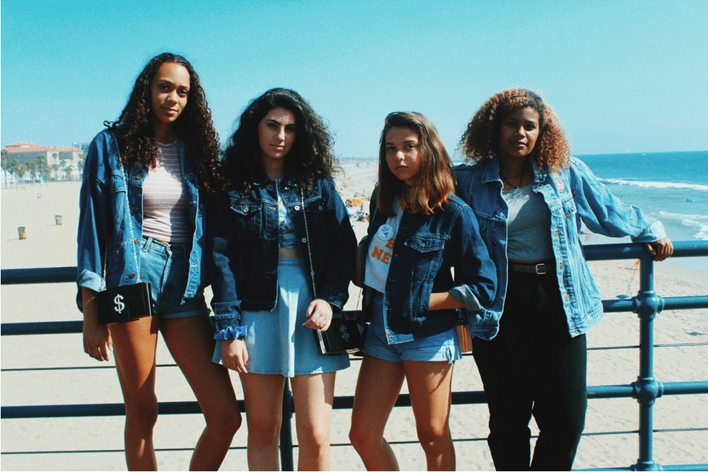 Girl Gang at the Santa Monica Pier