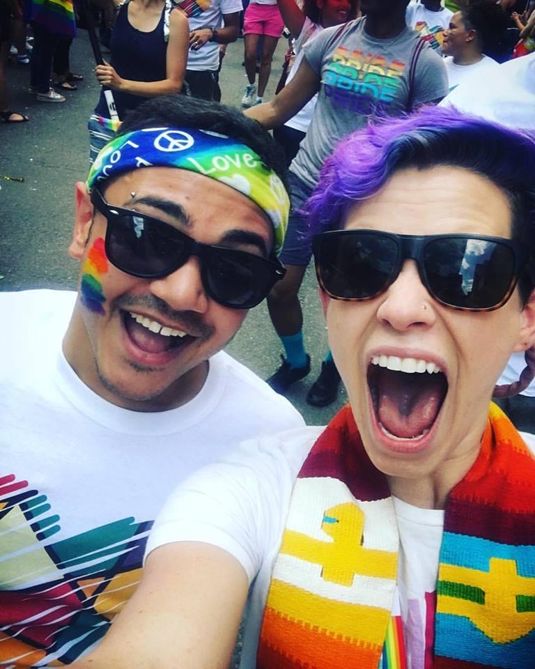 Jordan and Sara @ Pride 2017!