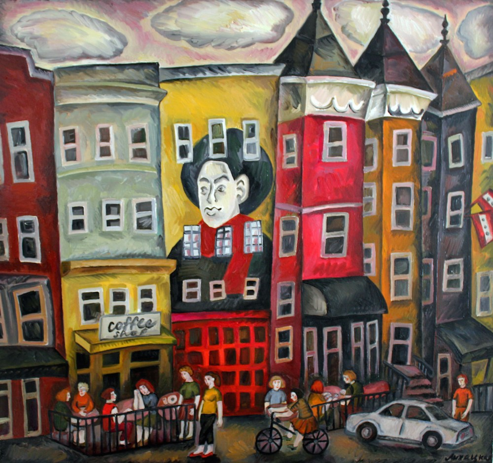 """series of Cities. Impressionist"
