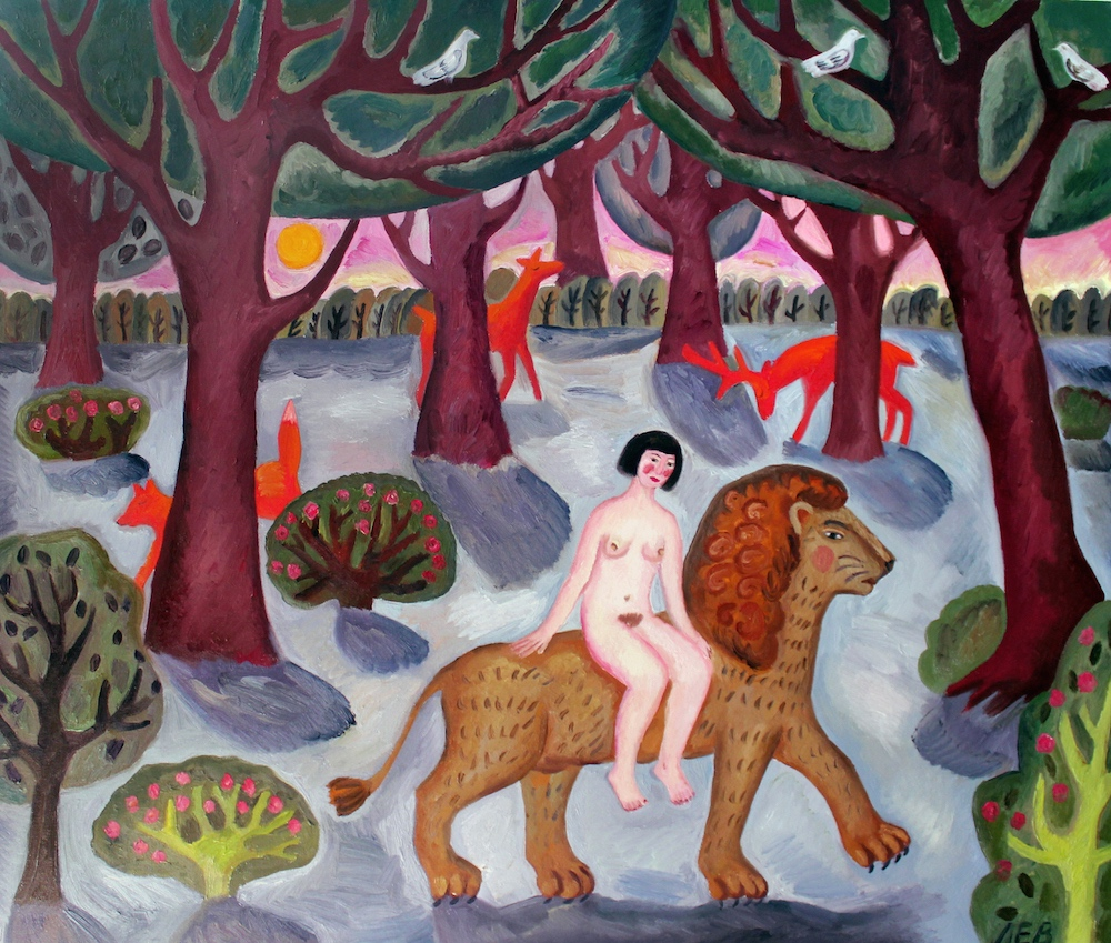 """series """"The forest's nymphs"""" , """"Lion"""""""