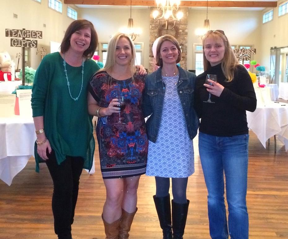 Amelia Walton, Carleen Kupcis, Christina Keller, and Melissa Hoover