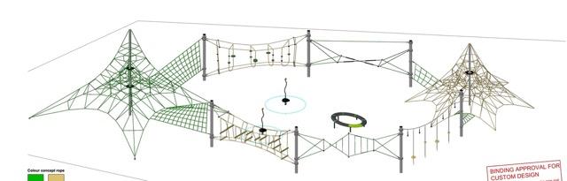 Proposed Playground equipment