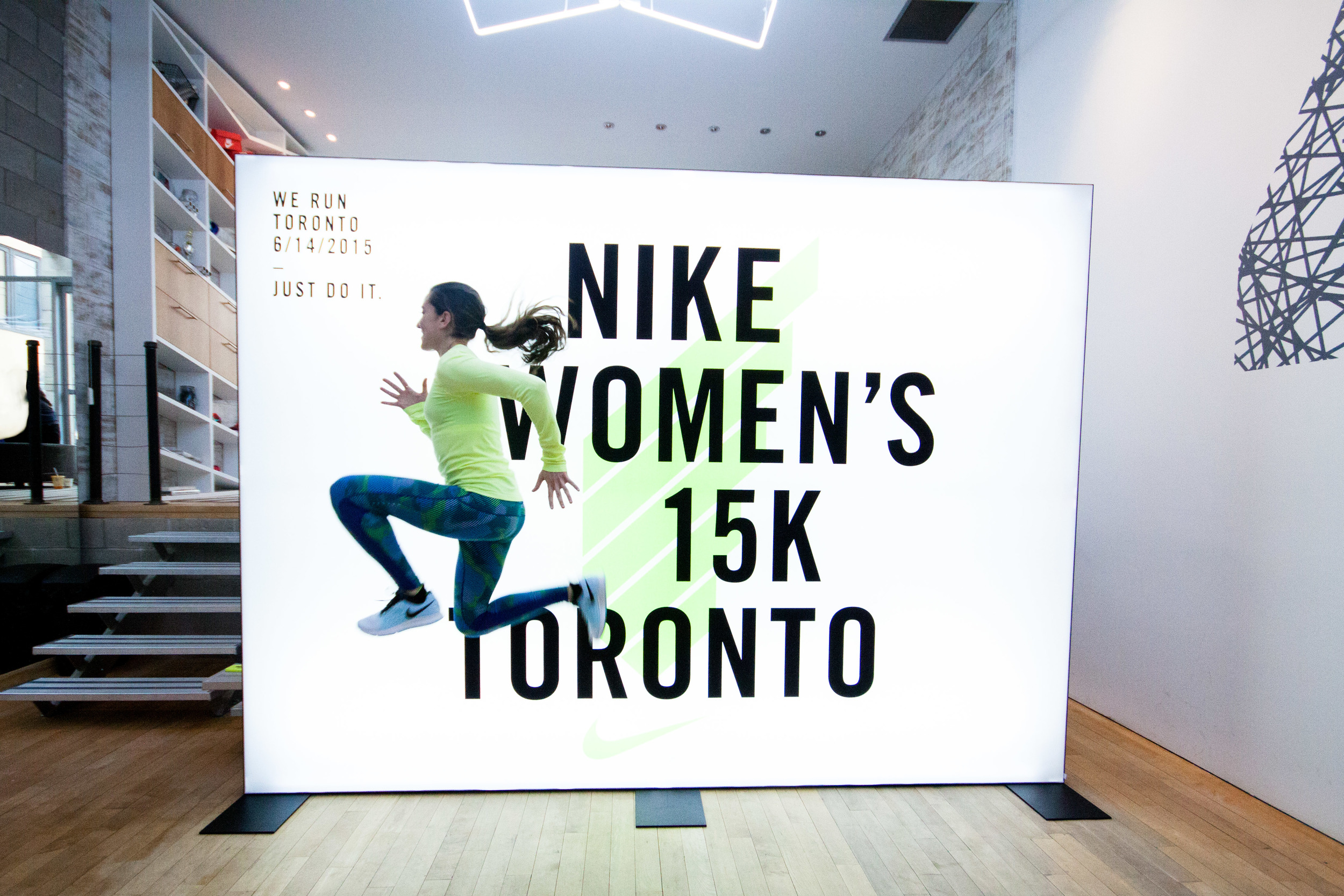 Canadian Olympian Sheila Reid gets into the spirit for the upcoming Nike Women's 15K on Toronto Island.