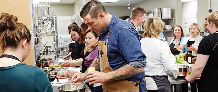 The first Toronto FOOD & WINE events will take place in Toronto this September. Celebrity chefs, culinary stars, and of course incredible food and wine. Oh and hey, Chuck Hughes will be there.