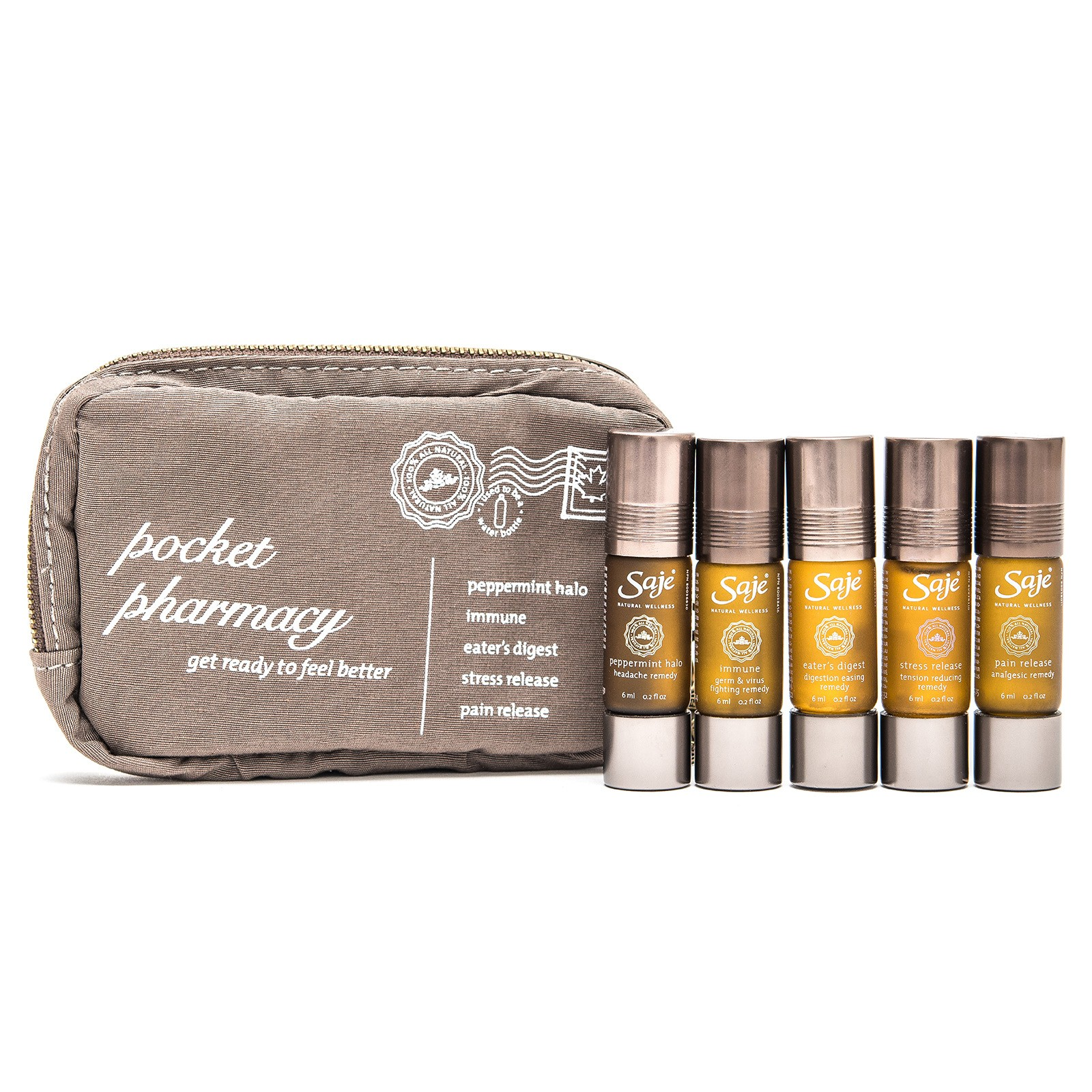 Portable aromatherapy to soothe what ails you by Saje Natural Wellness