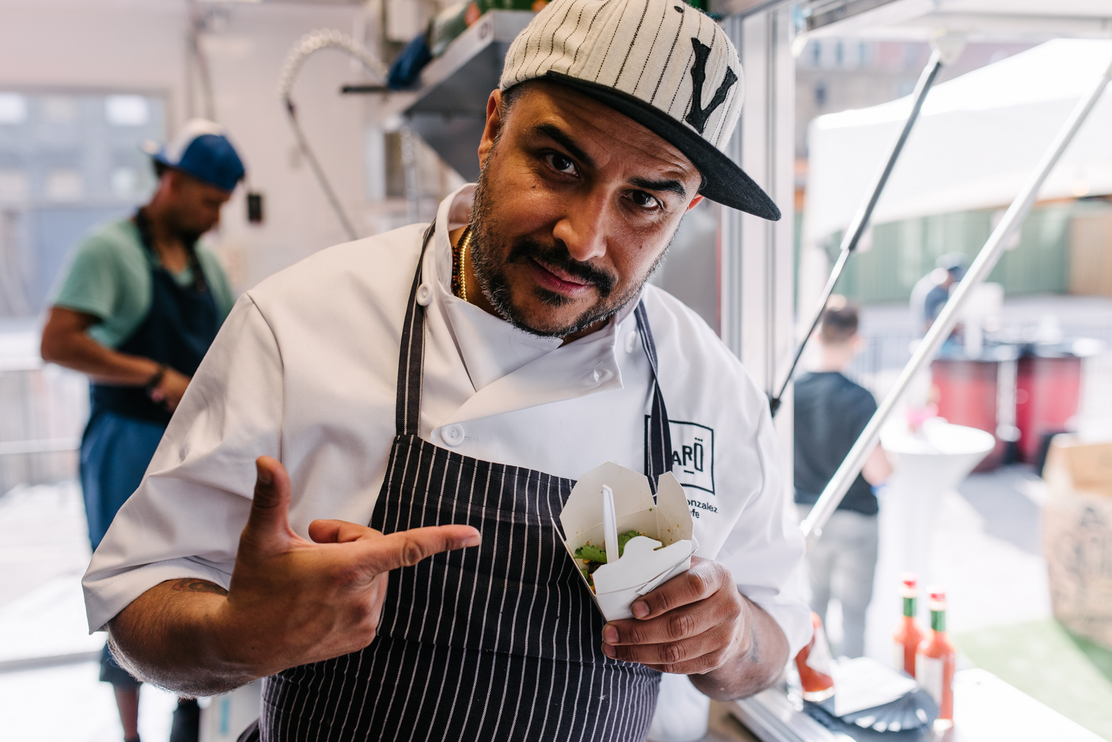 This guy! Steven Gonzalez has big plans to bring more Latin American food to Toronto. So listen up.