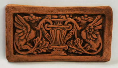 "Dragon Brick - 8.25""x4.5"". Designed by Alhambra Tiles."
