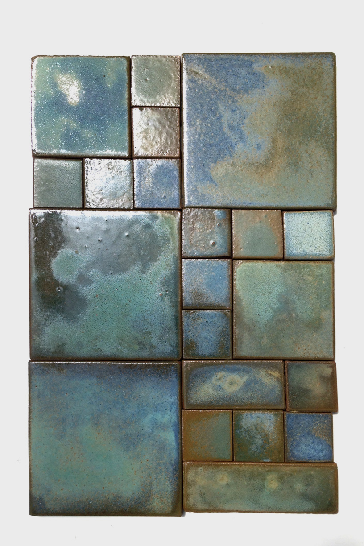 Watercolor Celadon & Teal
