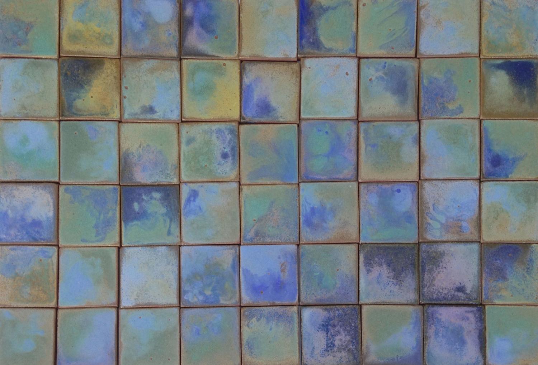 Watercolor Cobalt & Celadon