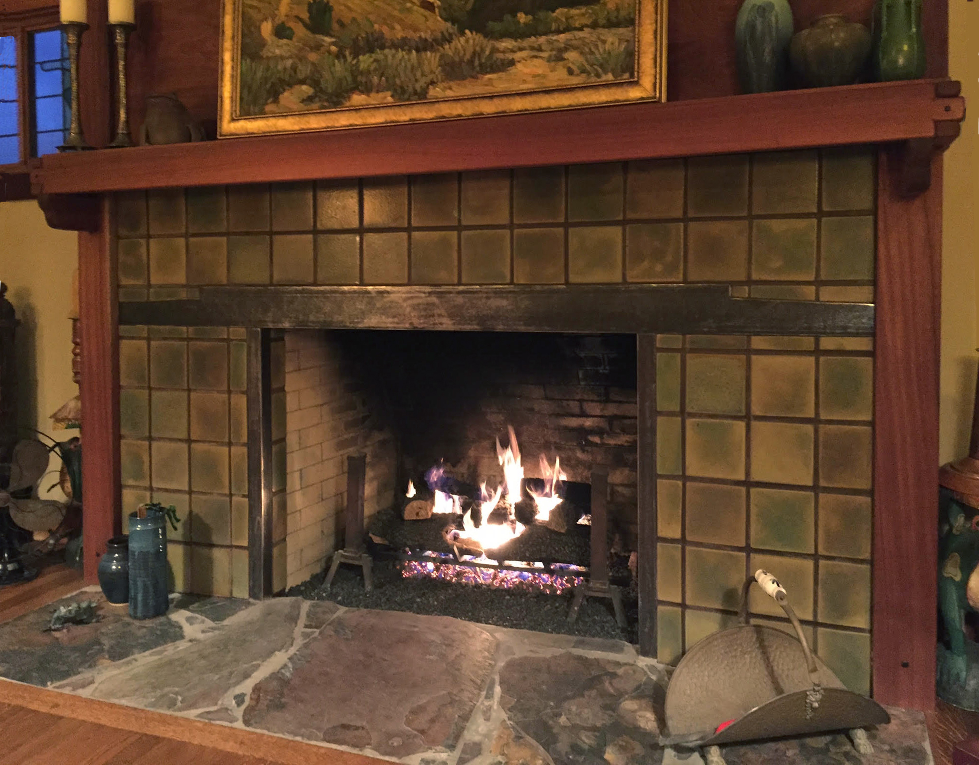 Reed Fireplace