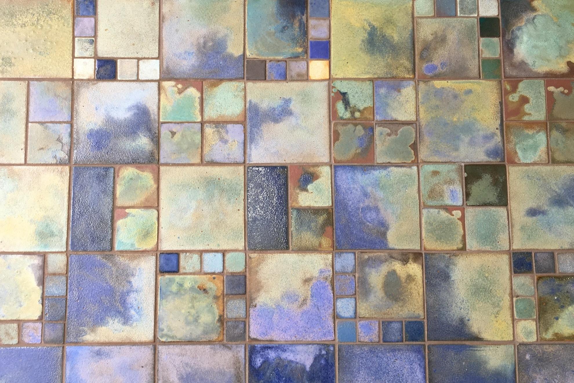 Cobalt & Moss watercolor -