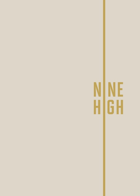 Branding and brochure copy | Nine High
