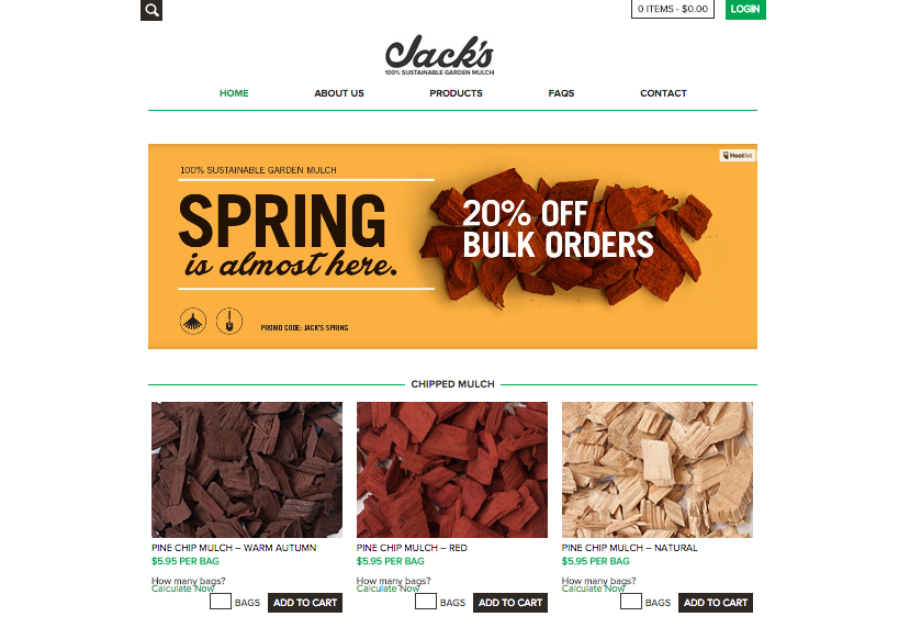 Website copy | Jack's Mulch