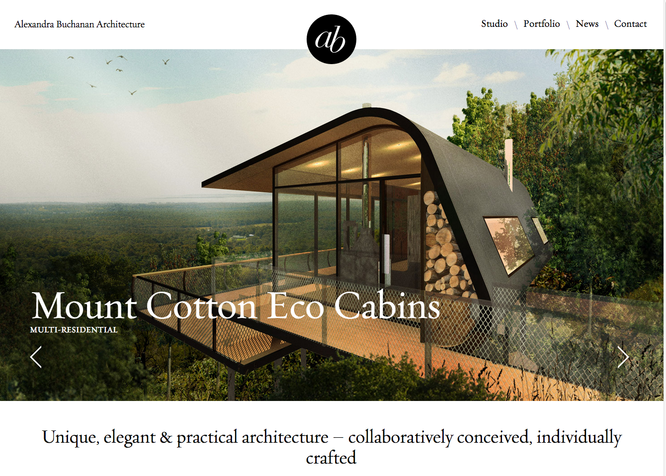 Website copy edit | Alexandra Buchanan Architecture