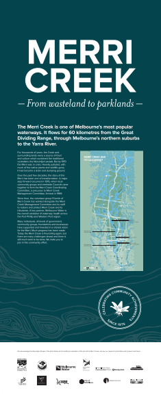 Banner copy and editing | Merri Creek Management Committee