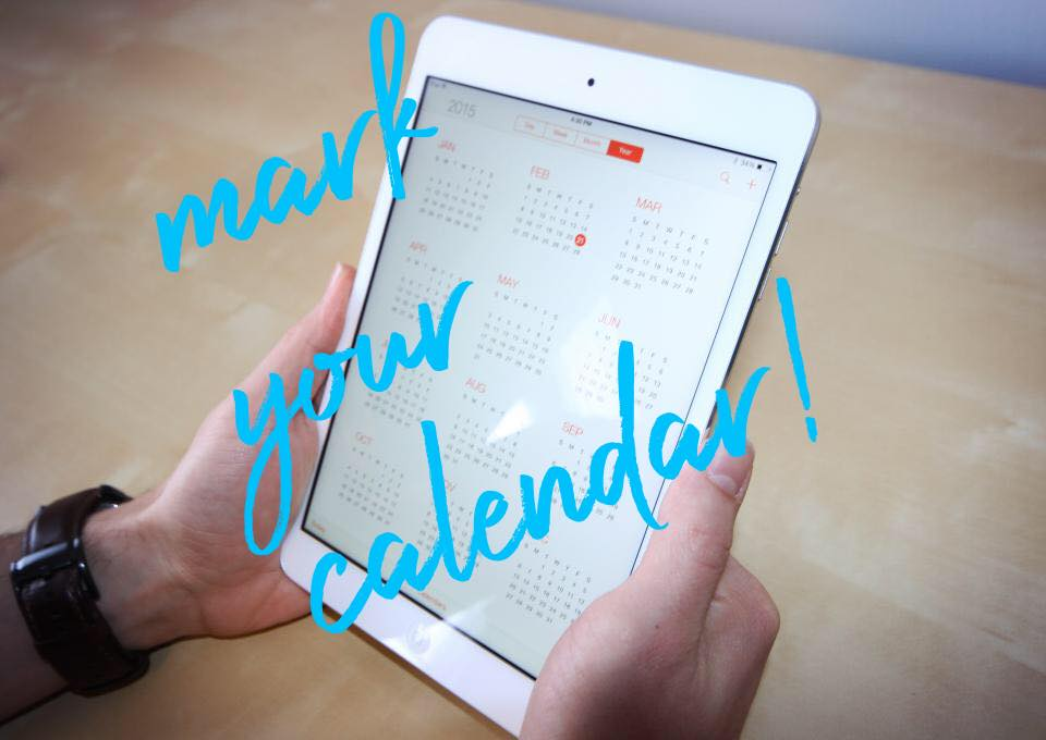 Monthly Calendar  - Check out what's coming up, mark your calendar and join us!