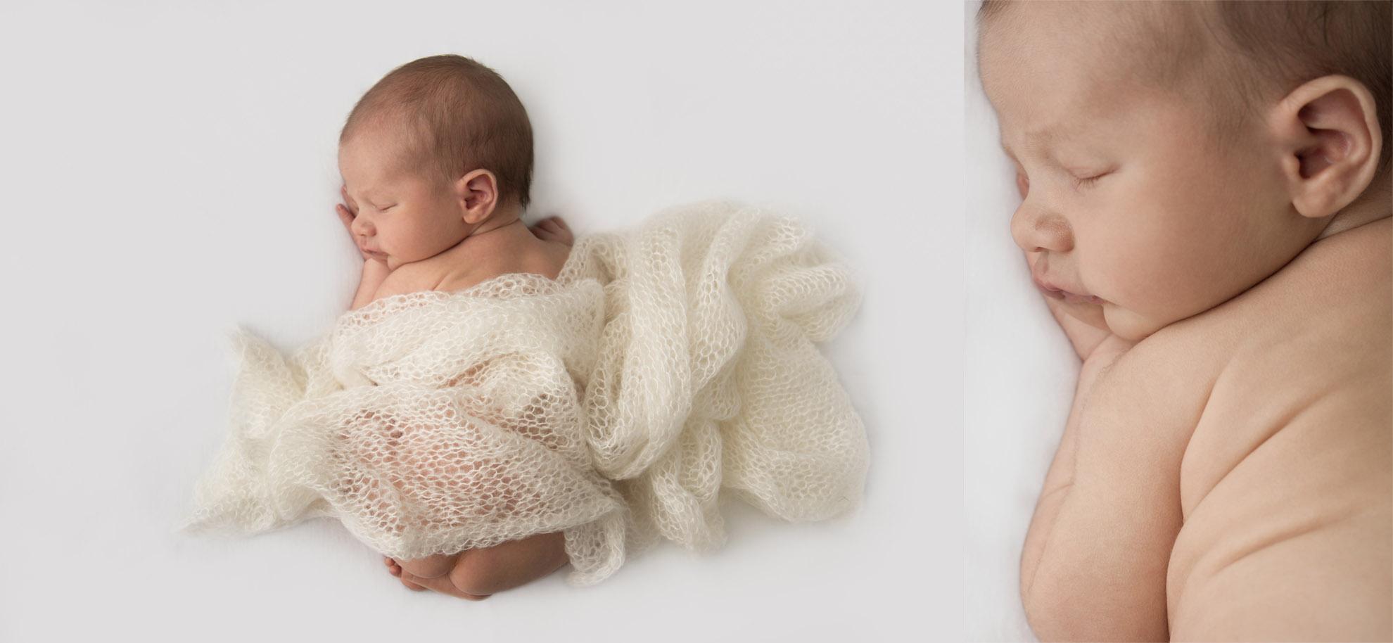 Hamilton-newborn-photographer-baby-with-cream-wrap.jpg