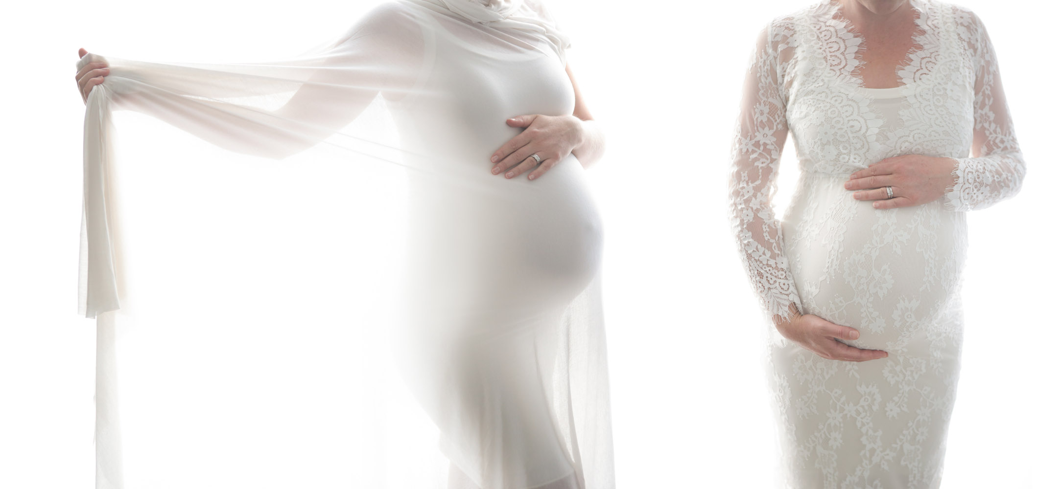 Dreamy backlit maternity photos with the most perfect bump! What's not to love?!