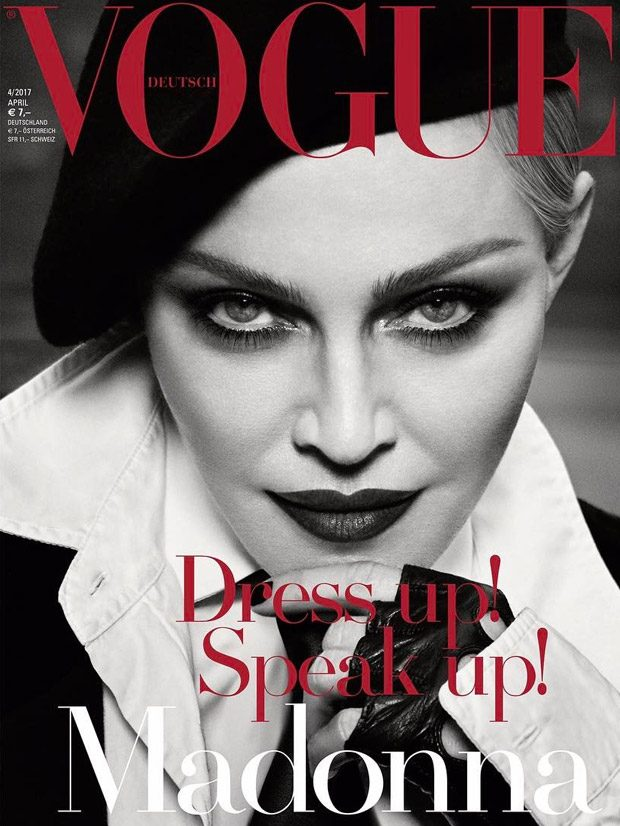 ASSISTING - MADONNA X VOGUE GERMANY