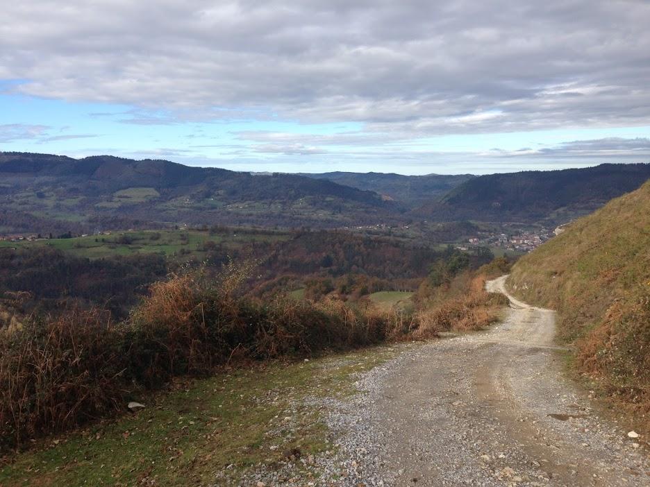 Said terrifying mountain road