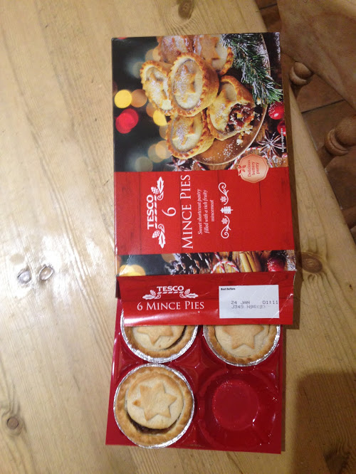 Mince pies- an essential tradition for British Christmas.
