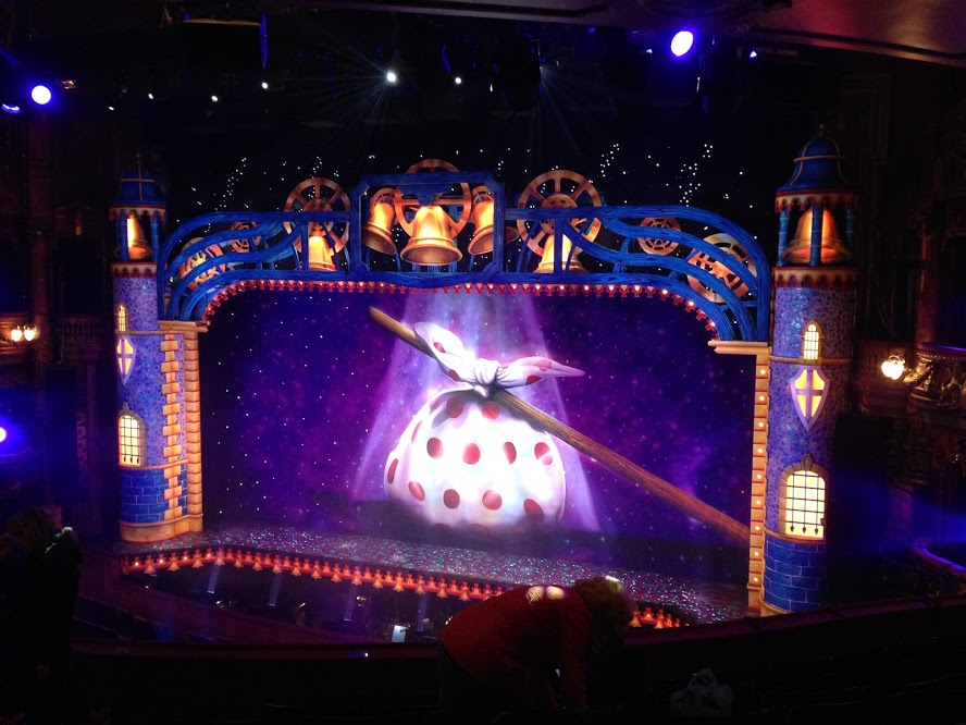 Dick Whittington, the second pantomime we got to see!