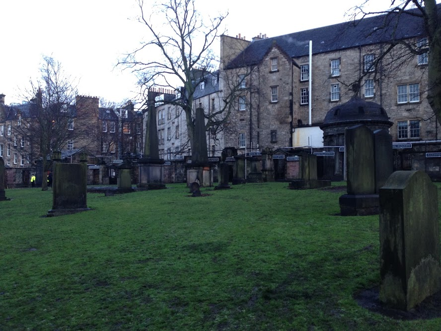 The cemetery where J.K. Rowling got a lot of her inspiration for names in Harry Potter