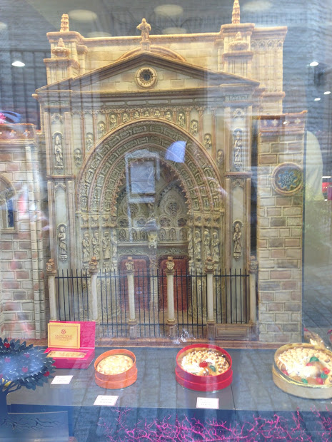 Cathedral made of marzipan