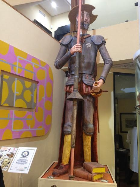 Sculpture made of marzipan