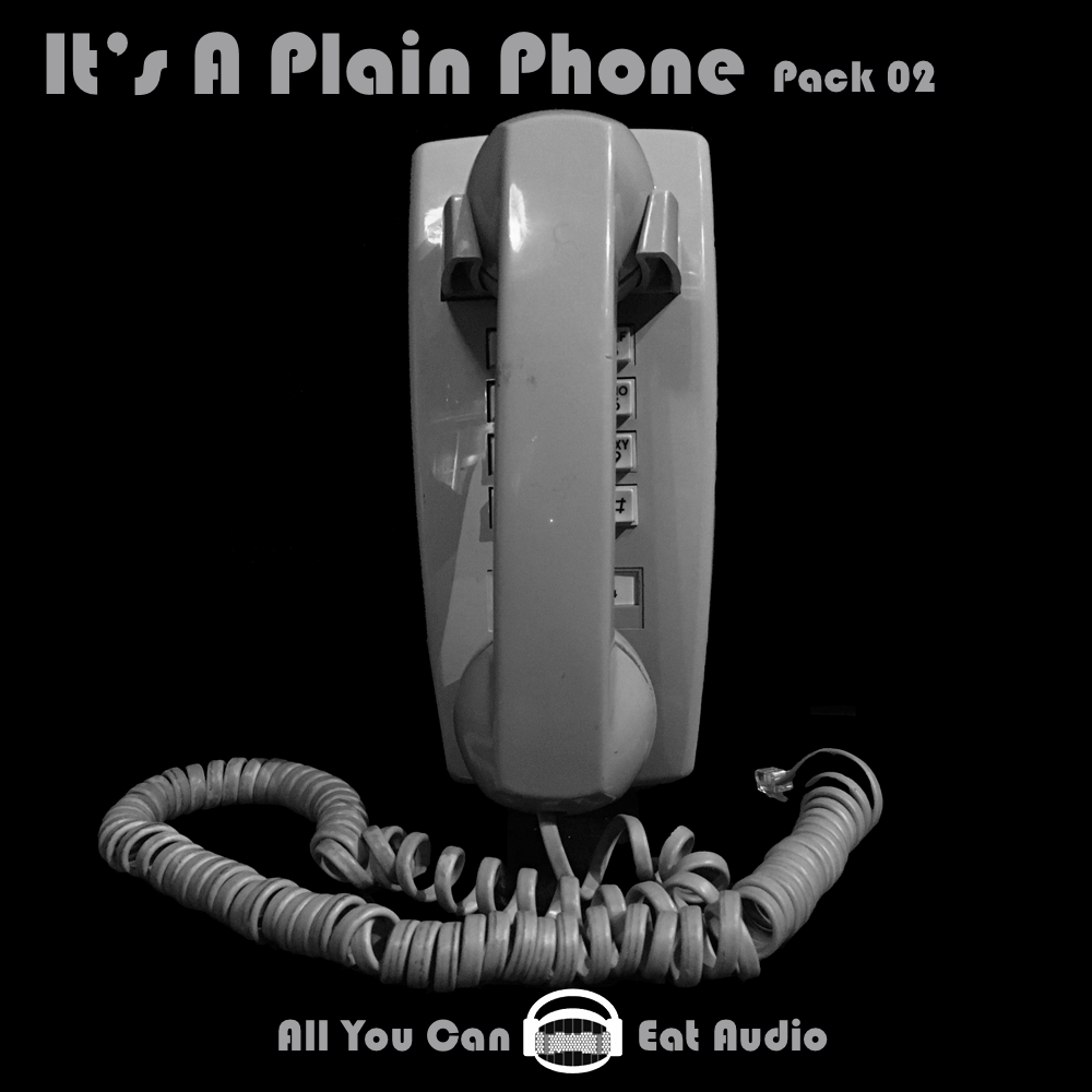 It's A Plain Phone_Pack 02 Cover Art designed in collaboration with: Elana Zussman