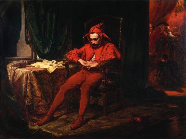 "("" Stańczyk "" (c. 1480–1560). the most famous court jester in Polish history 
