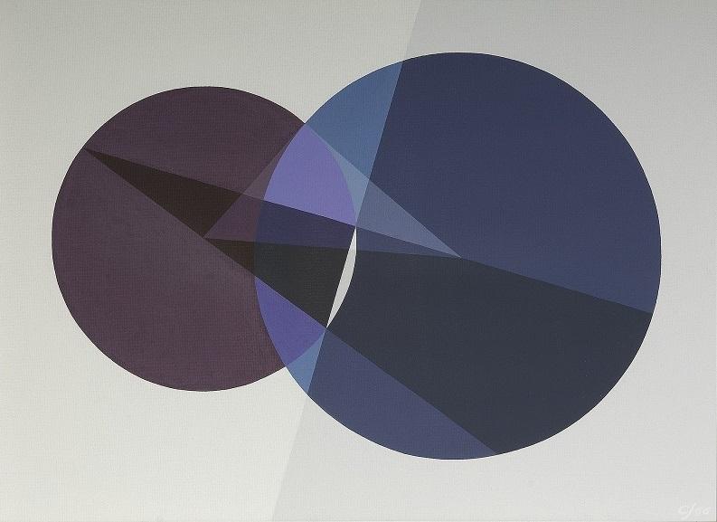 "("" Polar Line of a Point and a Circle (Apollonius) "" | Crockett Johnson)"