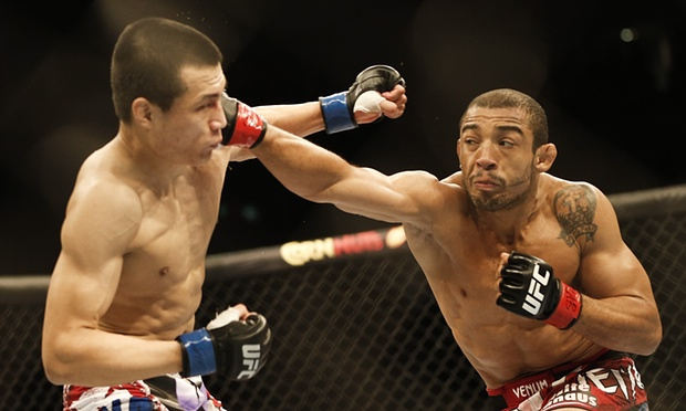 Jose Aldo and Korean Zombie