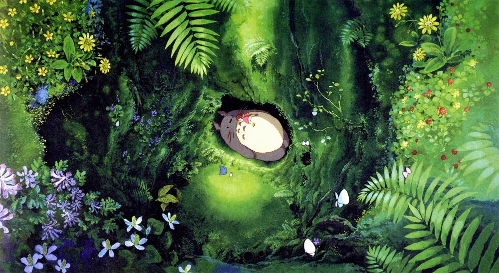 (  My Neighbor Totoro   | Studio Ghibli)