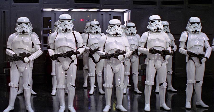 (The sameness of the Empire |  Star Wars )