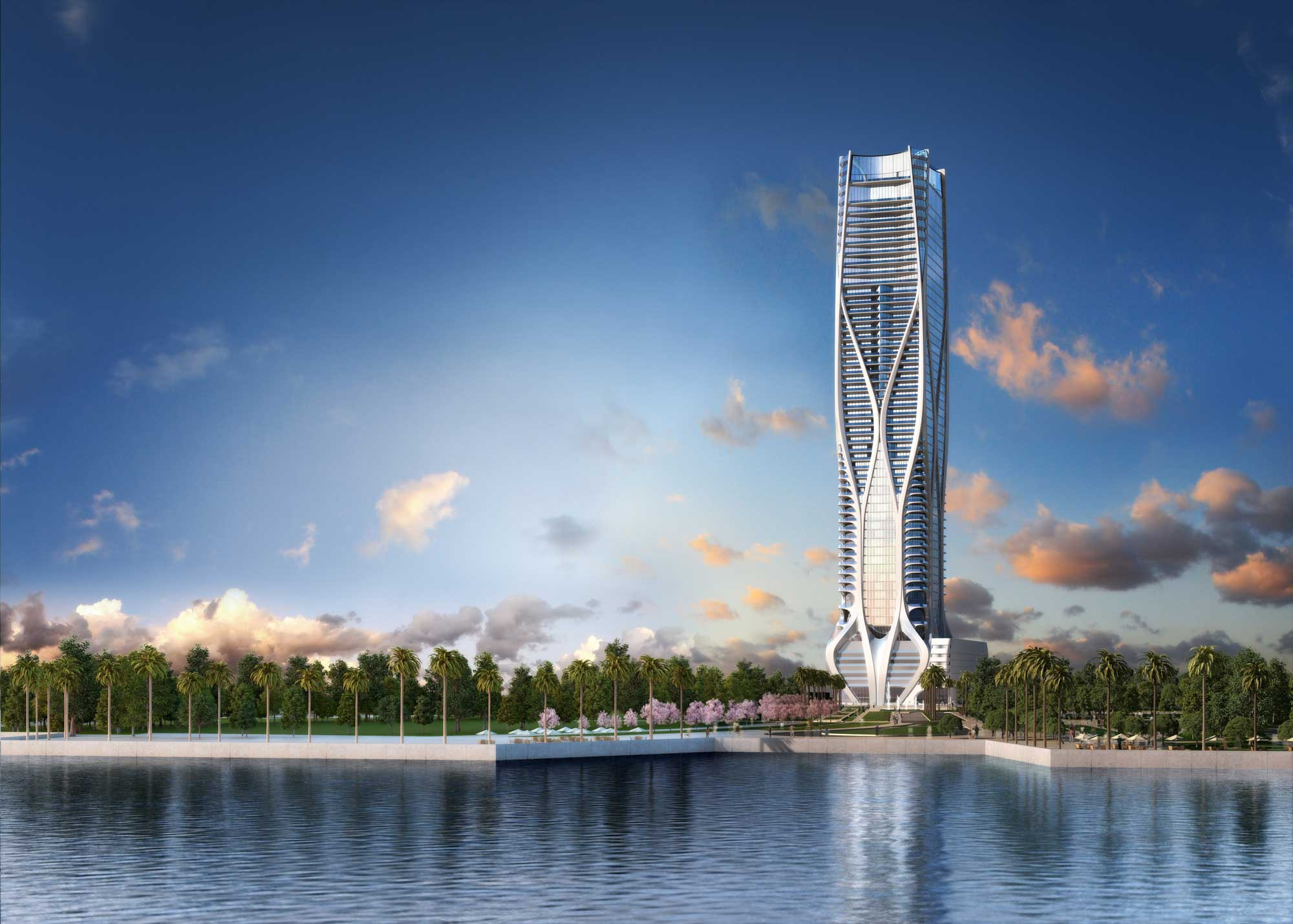 An exciting and unrivaleddevelopment project, The  1000 Museum  is a luxury signature residential tower by Pritzker architecture prize-winner and a world renowned international architect Zaha Hadid.