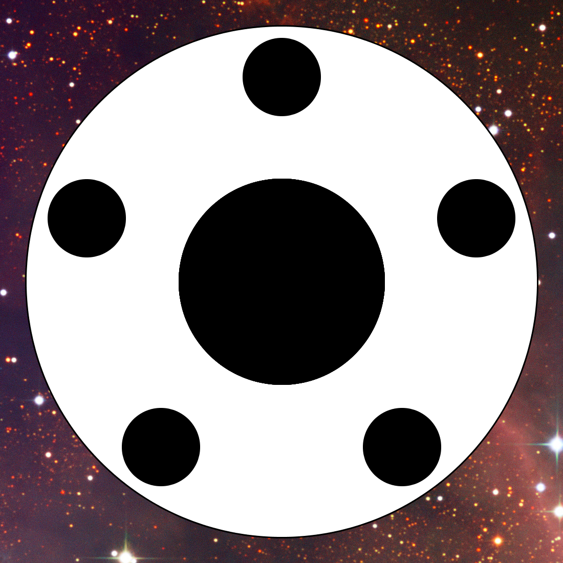 Another starry variant - because the UNR attempted to colonise other worlds.