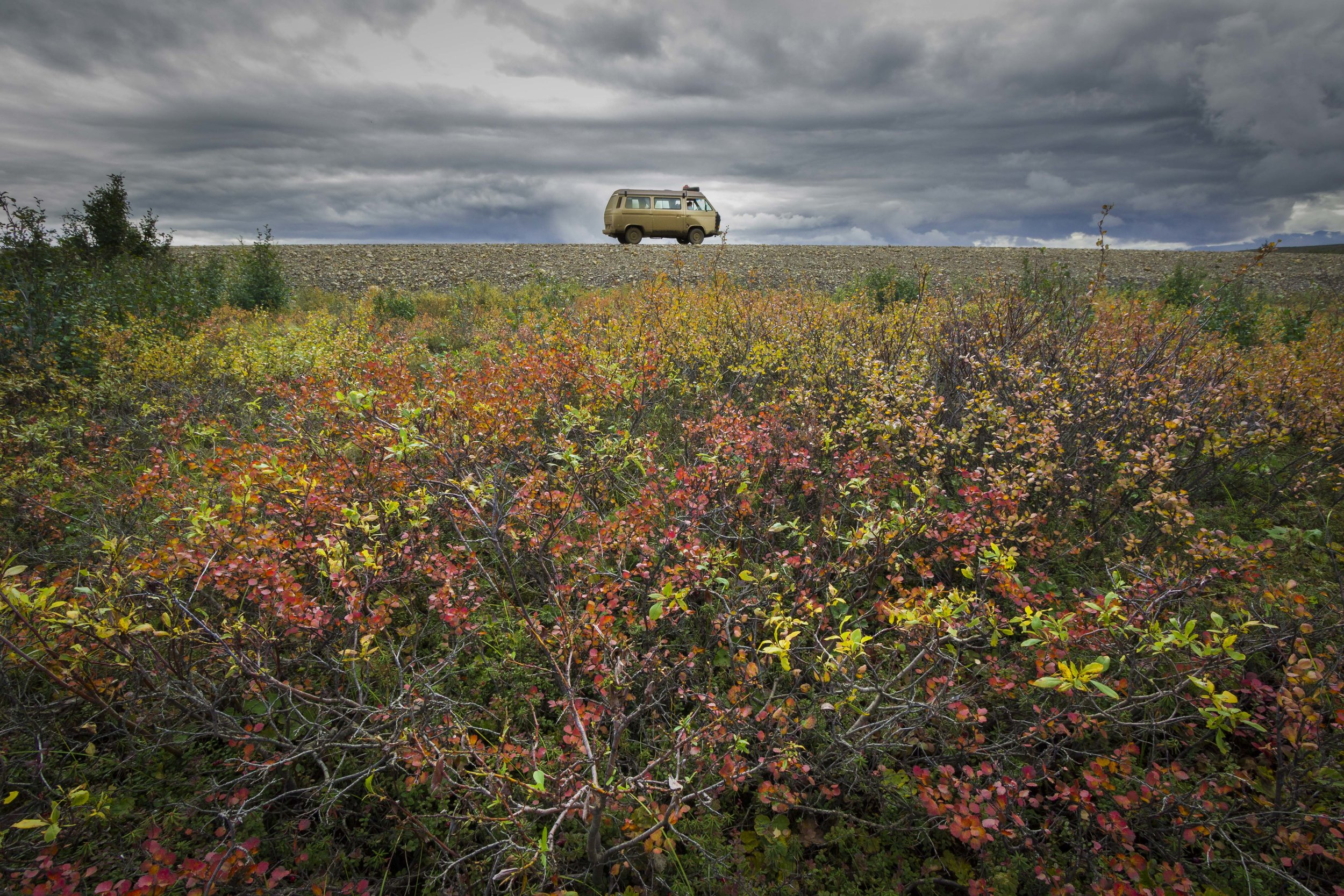 Dempster Highway, Roadtrip, Landscape, Arctic, rob gubiani, Tundra, Tombstone, Tuktoyuktuk, Inuvik, Dempster, Yukon, travel, wanderlust, bus, volkswagen, westfalia, camper van
