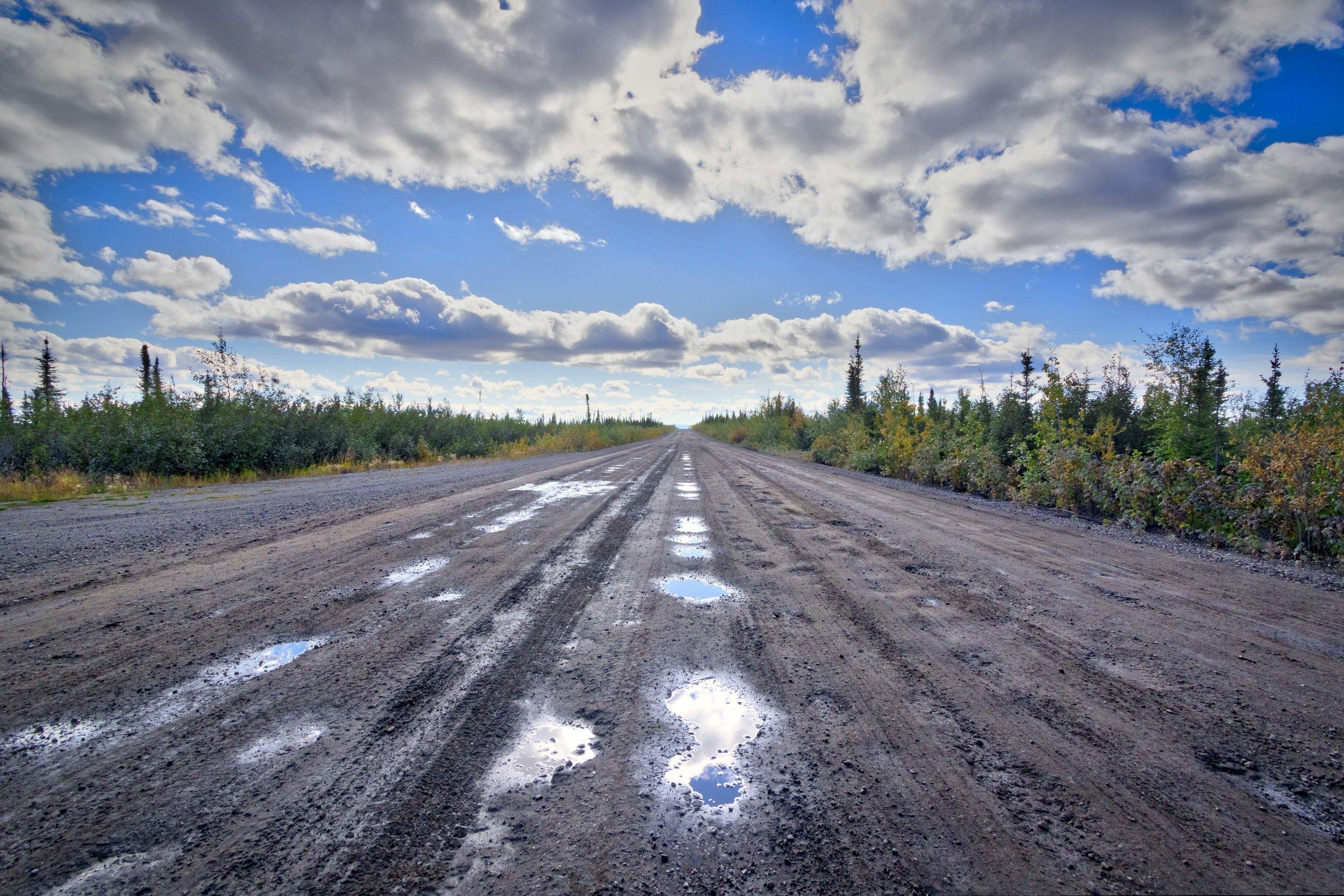 Dempster Highway, Roadtrip, Landscape, Arctic, rob gubiani, Tundra, Tombstone, Tuktoyuktuk, Inuvik, Dempster, Yukon, travel, wanderlust, boreal, forest, boreal forest, gravel, road, track, potholes,