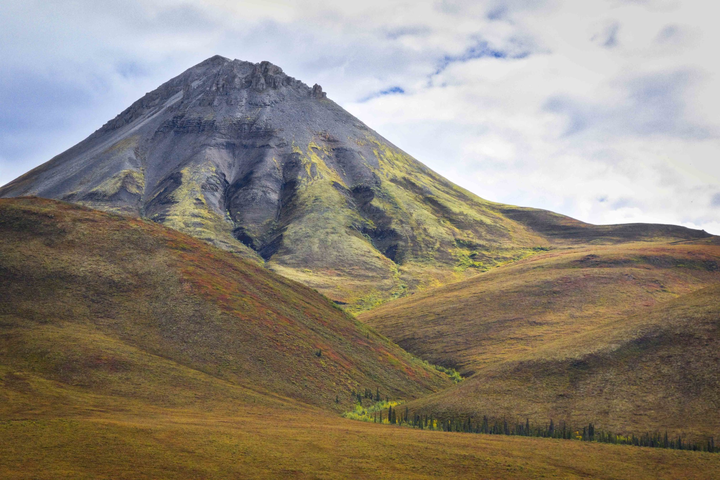 Dempster Highway, Roadtrip, Landscape, Arctic, rob gubiani, Tundra, Tombstone, Tuktoyuktuk, Inuvik, Dempster, Yukon, travel, wanderlust, boreal, forest, boreal forest, fall, autumn, mountain,