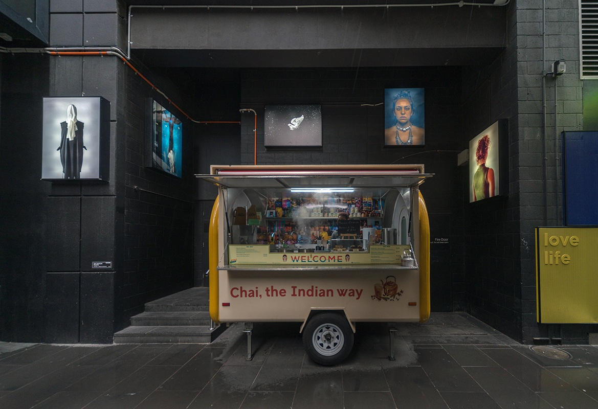 Installation View / Knox Place, Melbourne Central