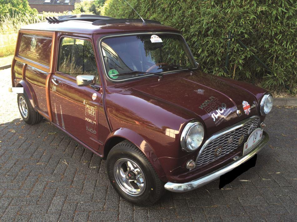 Mini Cooper auf A008 YOKOHAMA Reifen