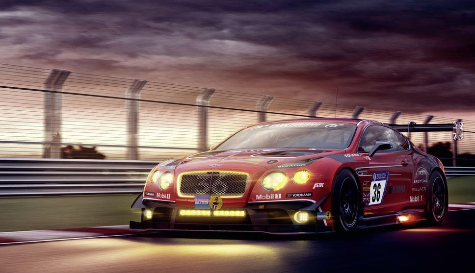 ABT Bentley GT3 auf YOKOHAMA Reifen