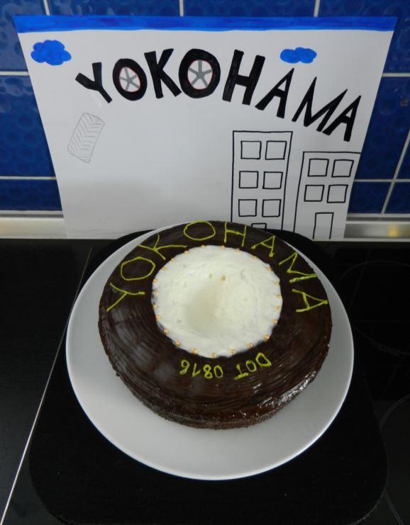 Yokohama Reifentorte aus der #yokohamabackaktion 2016 von H. Wolfrom
