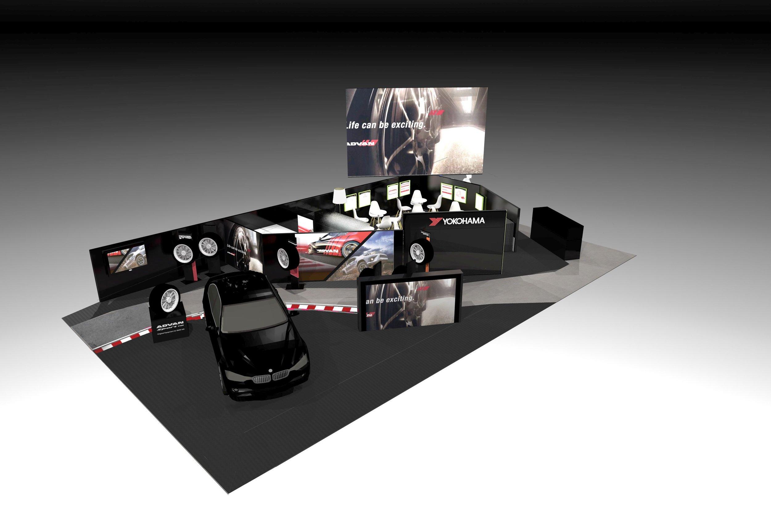 YOKOHAMA Messestand Halle 4 Stand 4231 auf der Genfer Motorshow 2018