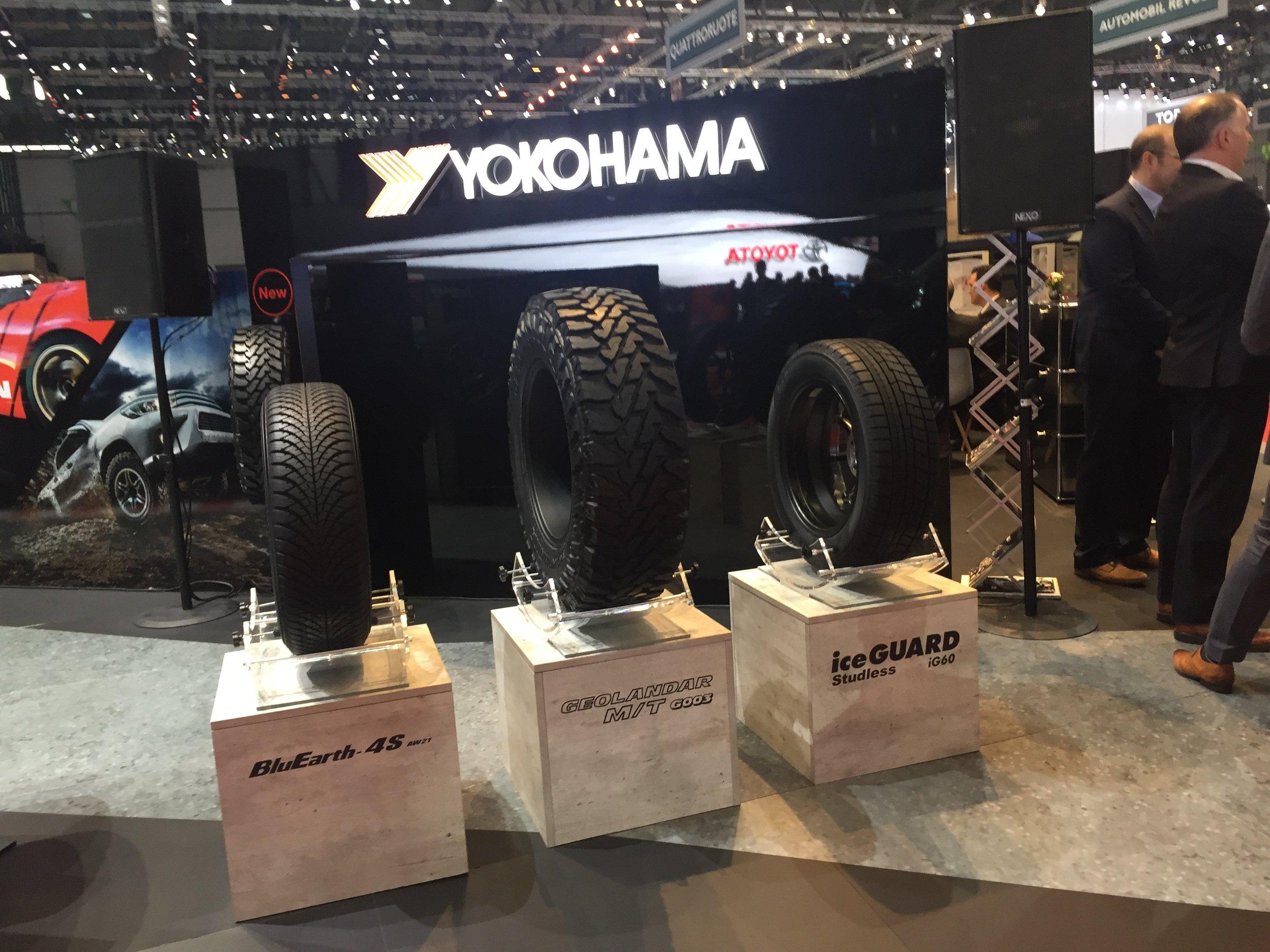 YOKOHAMA Reifenneuheiten Genf 2018