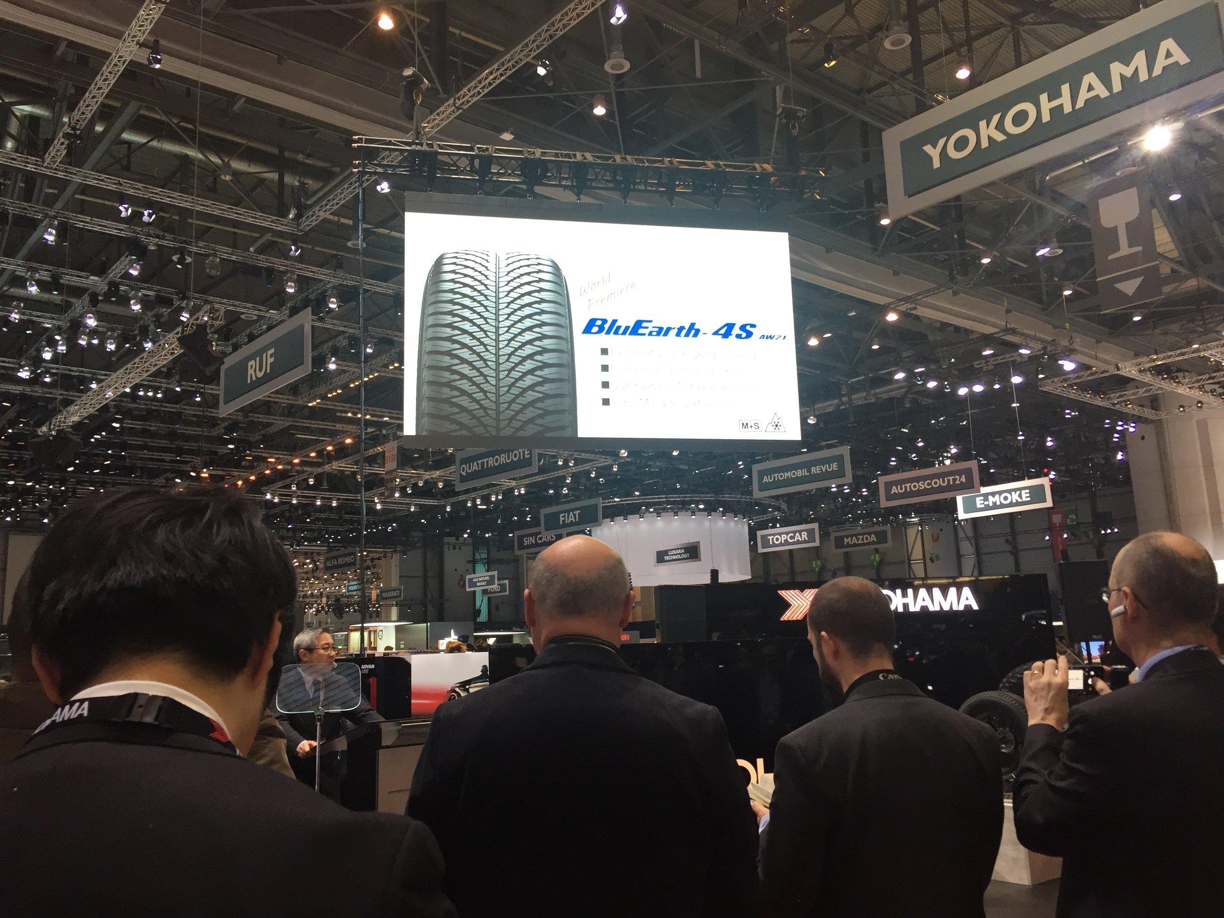 YOKOHAMA Europa-Präsident und YOKOHAMA Reifen GmbH (Deutschland) Präsident Keishi Hashimoto