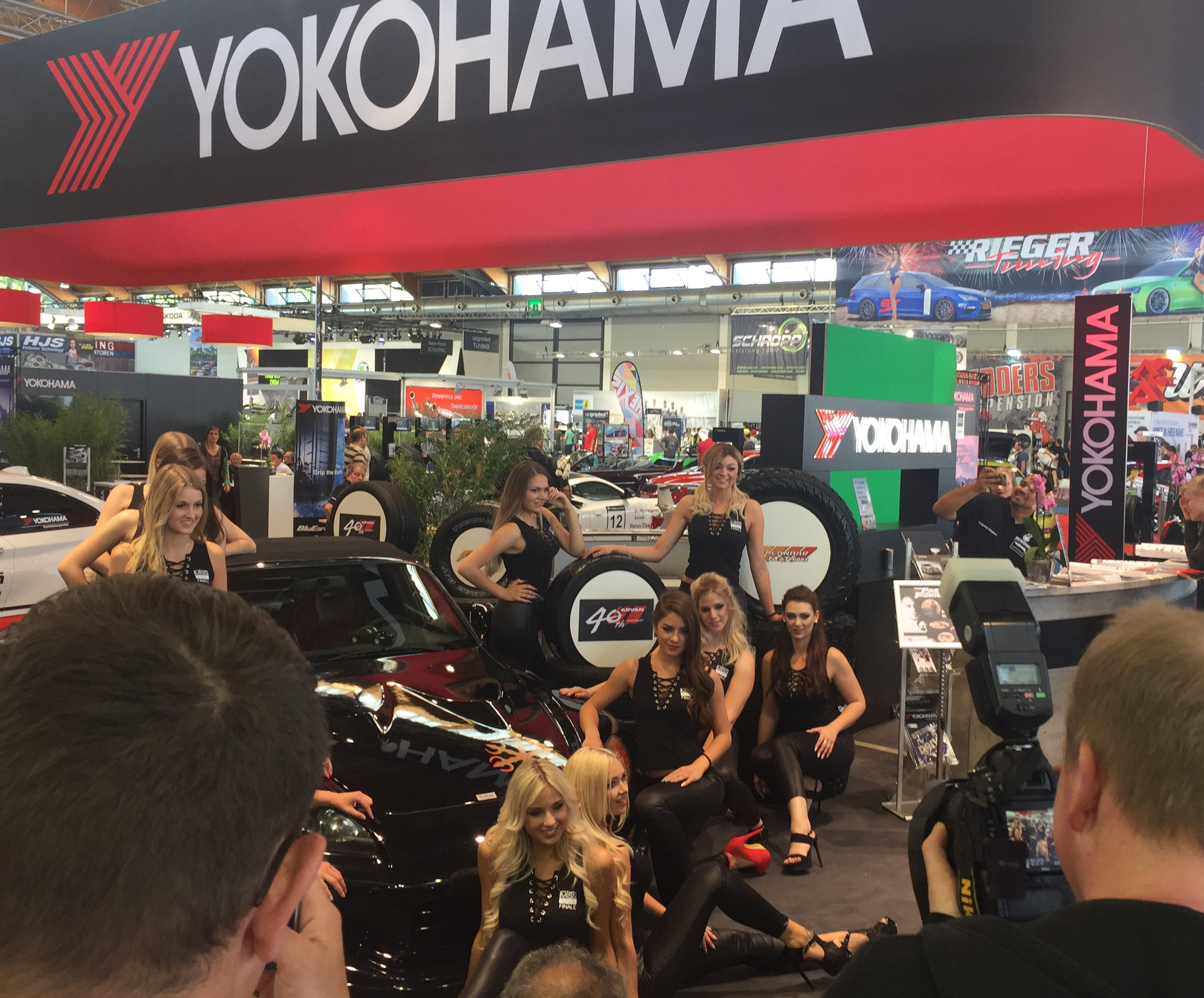YOKOHAMA Tuning World Miss Tuning 2018